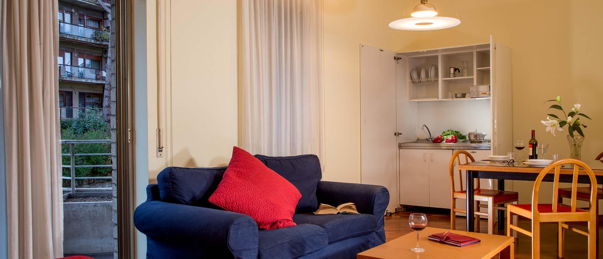 Residence parco salario prenotazione appartamenti in for Appartamenti centro roma